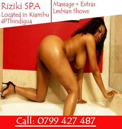 Riziki SPA Escort spa in Kiambu at Thindigua